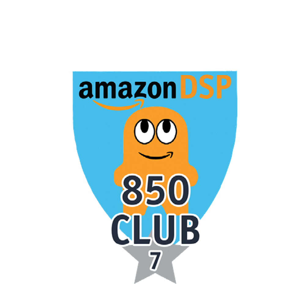 Amazon DSP Peccy 850 Club - 7 month FICO Pin