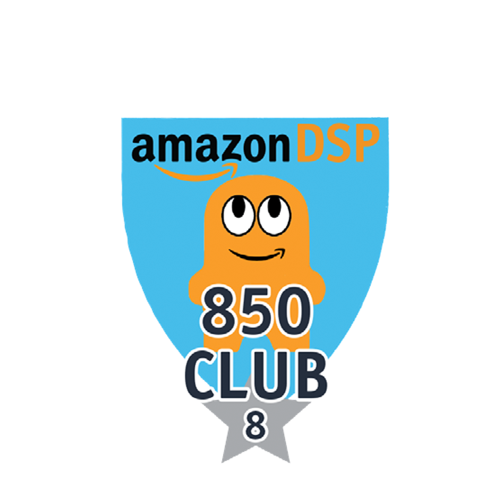 Amazon DSP Peccy 850 Club - 8 month FICO Pin