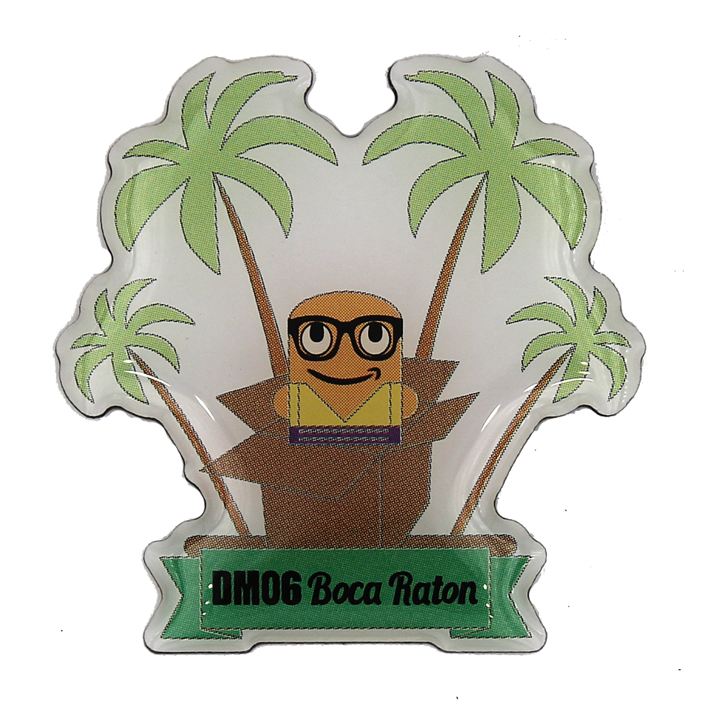 Amazon DSP Peccy - Palm Trees Pin DMO6