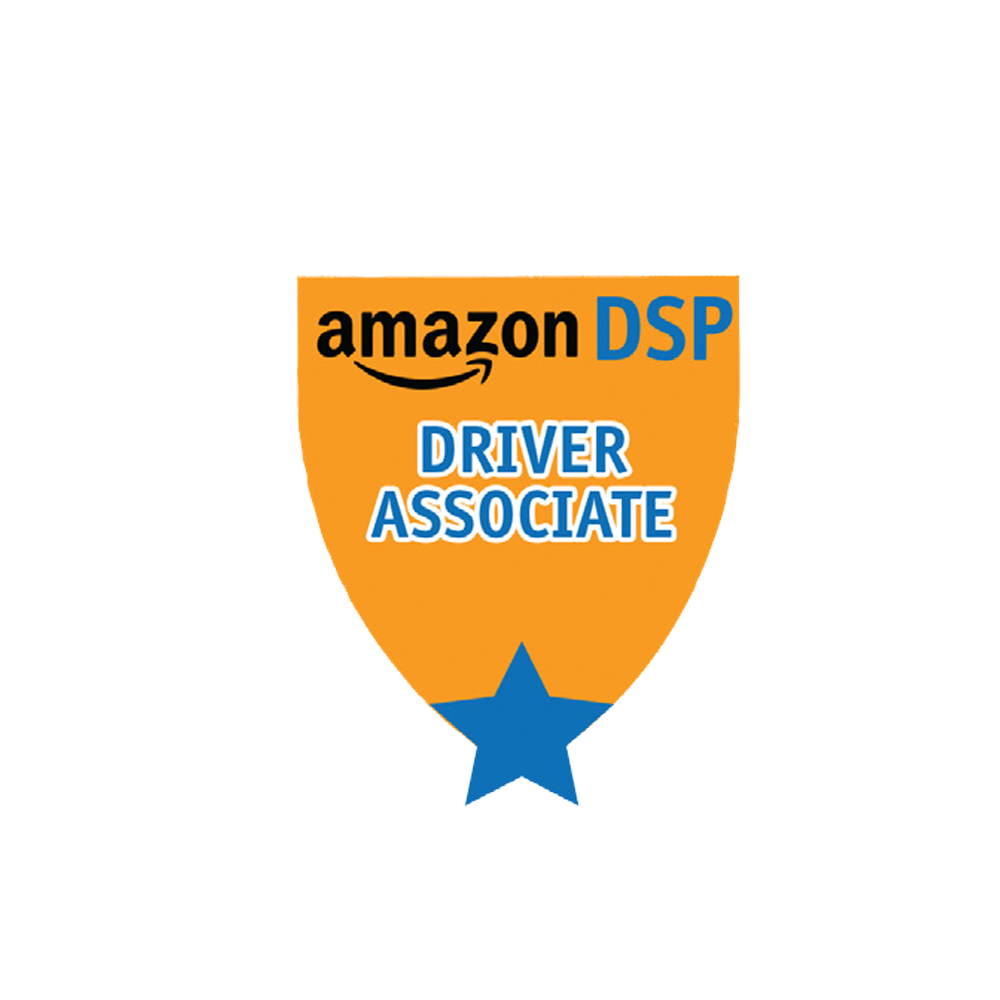 Amazon DSP Orange Titles - Driver Associate Pin