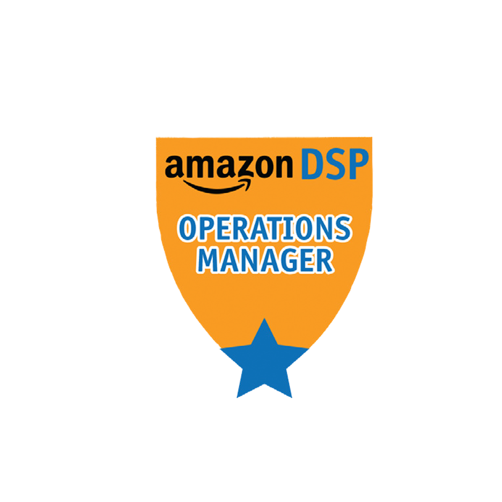 Amazon DSP Orange Titles - Operations Manager Pin