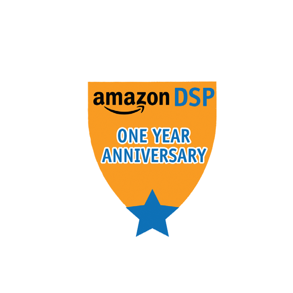 Amazon DSP Anniversary Pin for your DSP