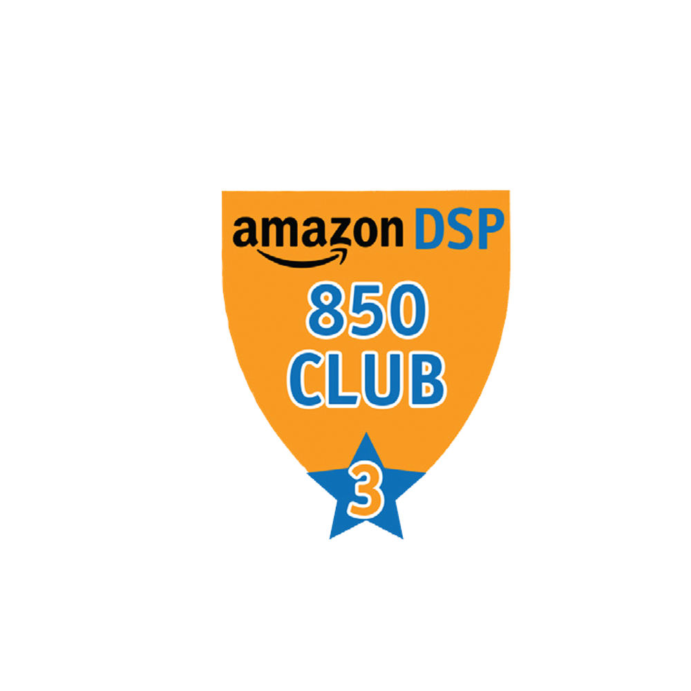 Amazon DSP Orange - 850 Club - 3 month FICO Pin