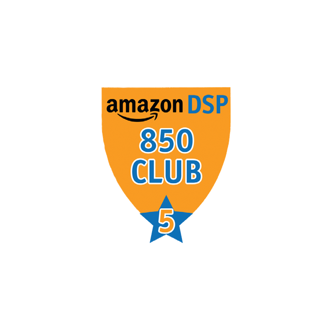 Amazon DSP Orange - 850 Club - 5 month FICO Pin