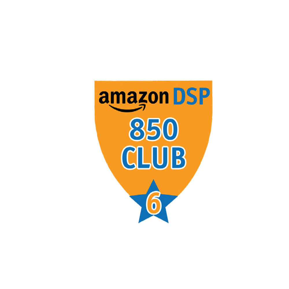 Amazon DSP Orange - 850 Club - 6 month FICO Pin