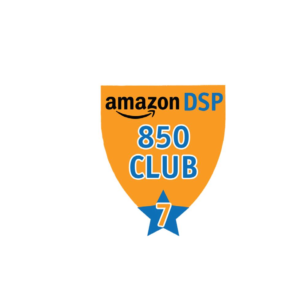 Amazon DSP Orange - 850 Club - 7 month FICO Pin