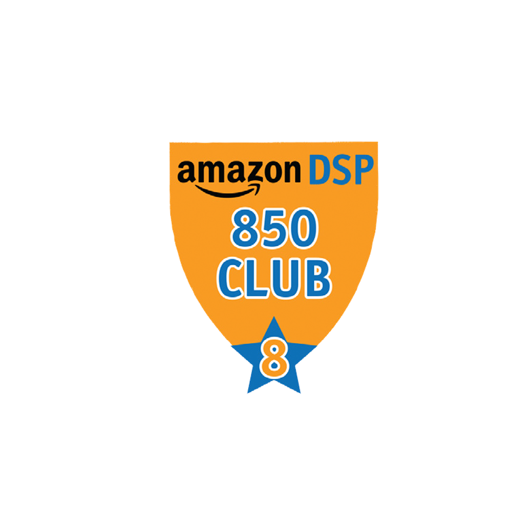 Amazon DSP Orange - 850 Club - 8 month FICO Pin
