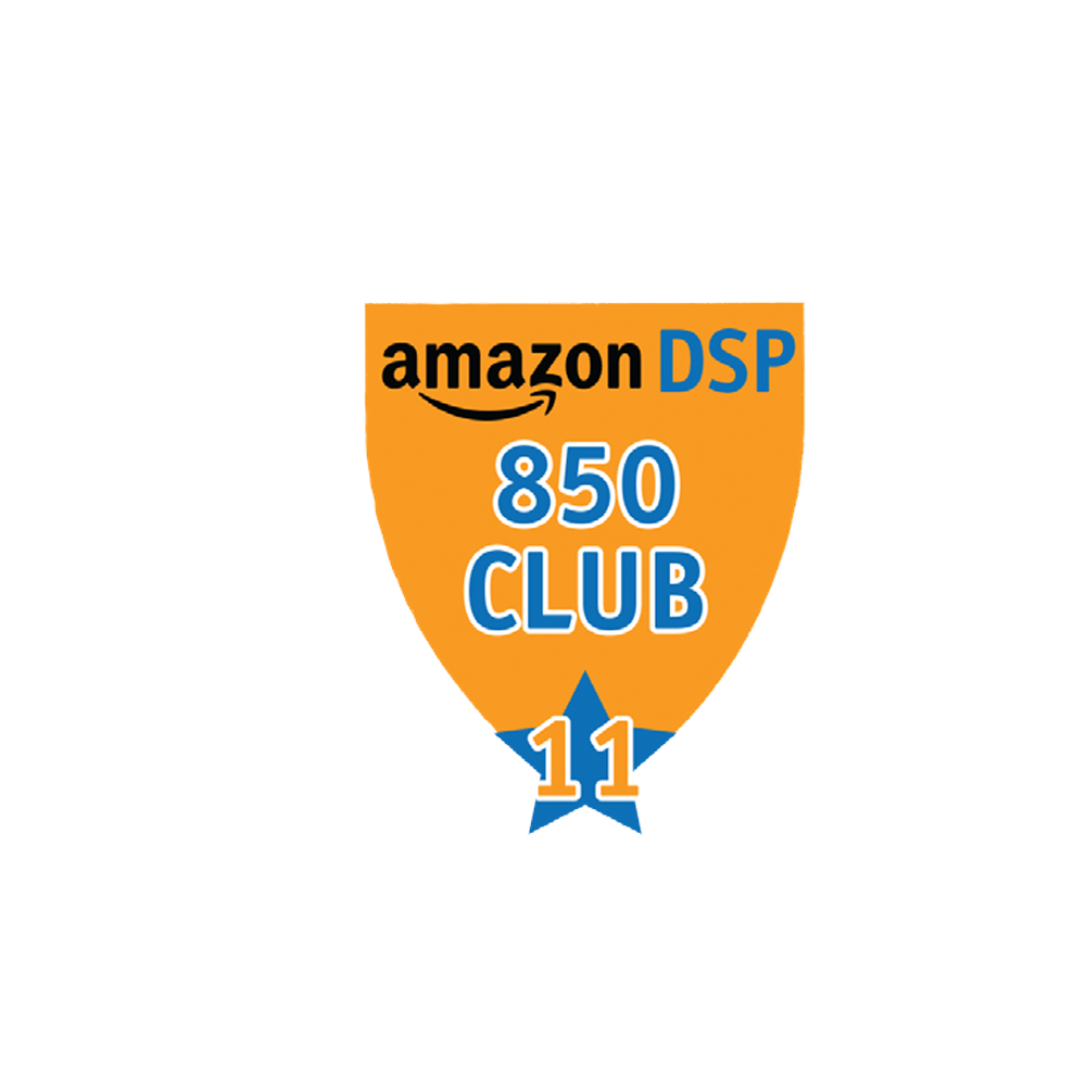 Amazon DSP Orange - 850 Club - 11 month FICO Pin