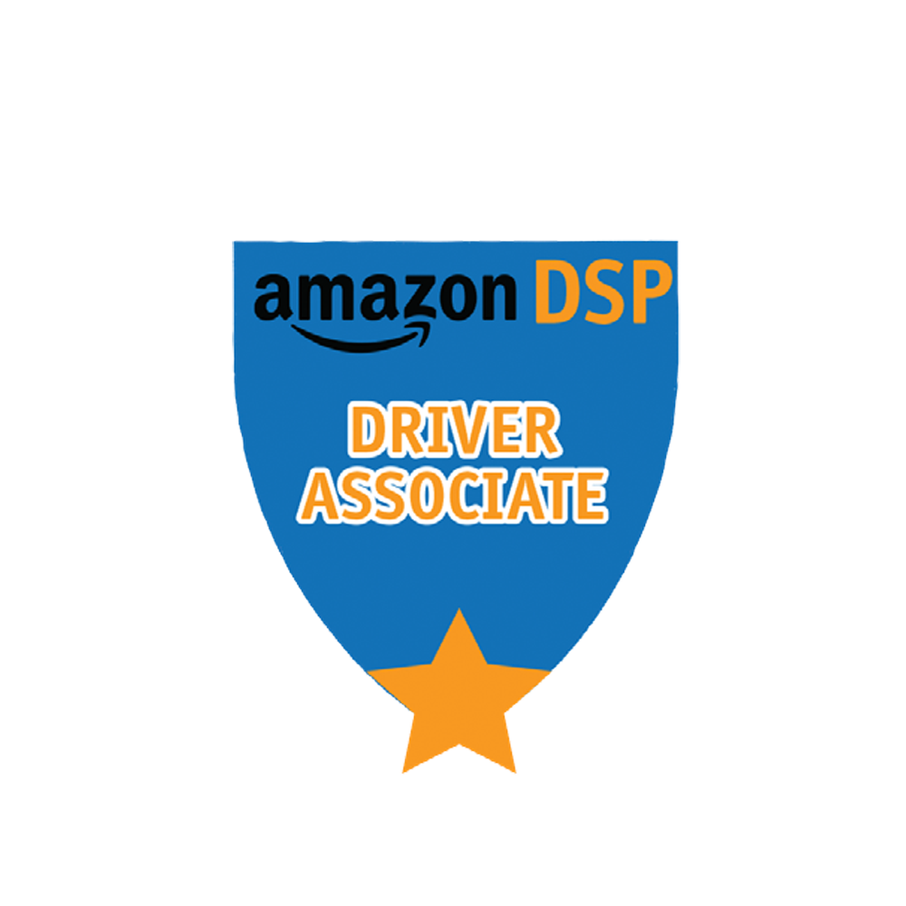 Amazon DSP Blue Titles - Driver Associate Pin