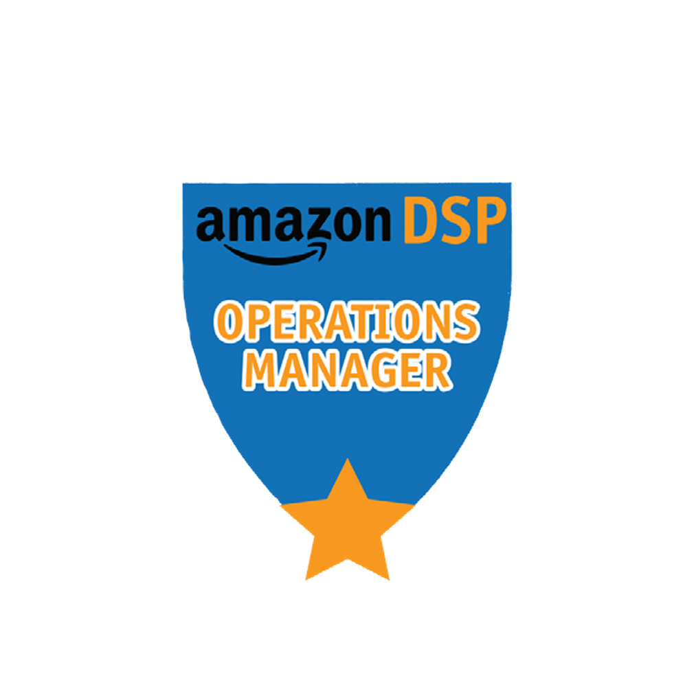 Amazon DSP Blue Titles - Operations Manager Pin