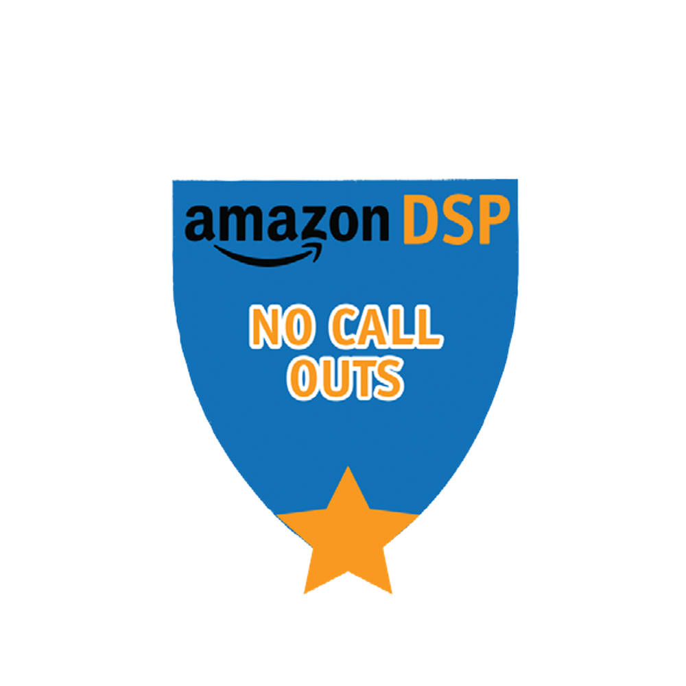 Amazon DSP Blue No Call Outs - Motivational Pin