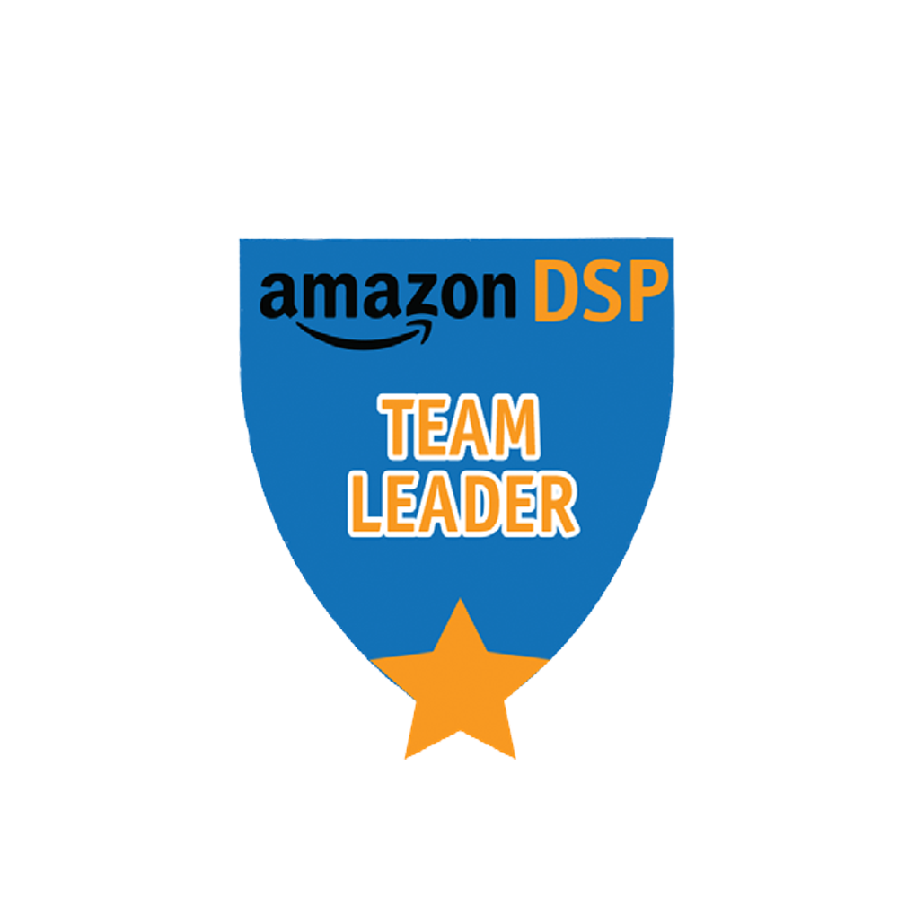 Amazon DSP Blue Titles - Team Leader Pin