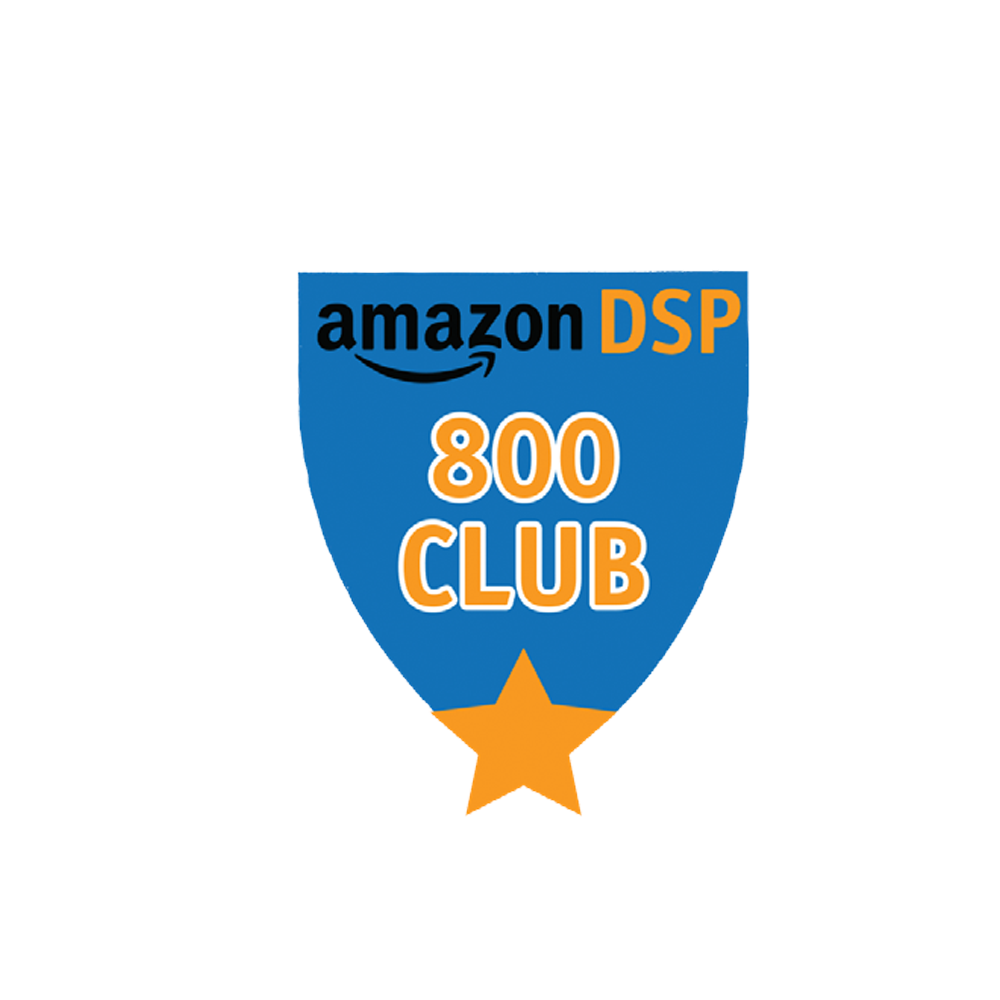 Amazon DSP Blue 800 Club FICO Pin