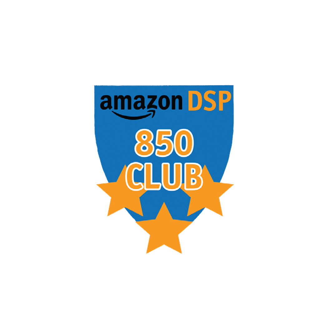 Amazon DSP Blue 850 Club FICO Pin