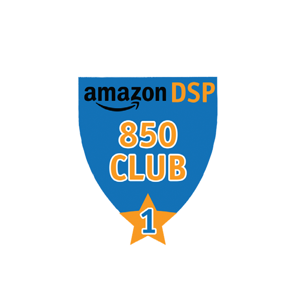 Amazon DSP Blue - 850 Club - 1 month FICO Pin