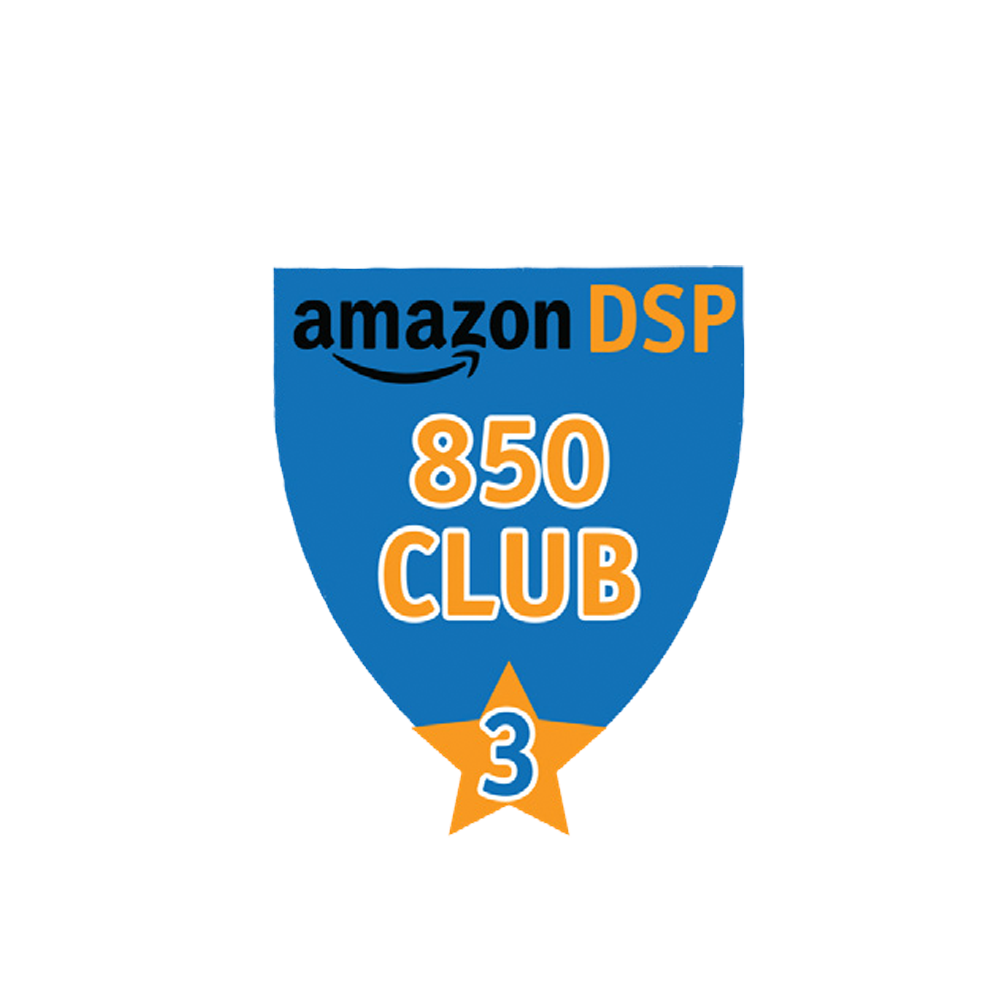 Amazon DSP Blue - 850 Club - 3 month FICO Pin