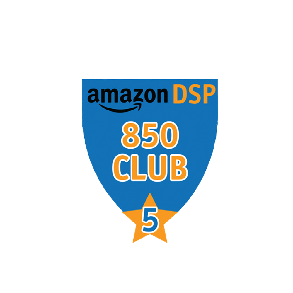 Amazon DSP Blue - 850 Club - 5 month FICO Pin