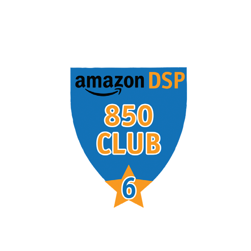 Amazon DSP Blue - 850 Club - 6 month FICO Pin