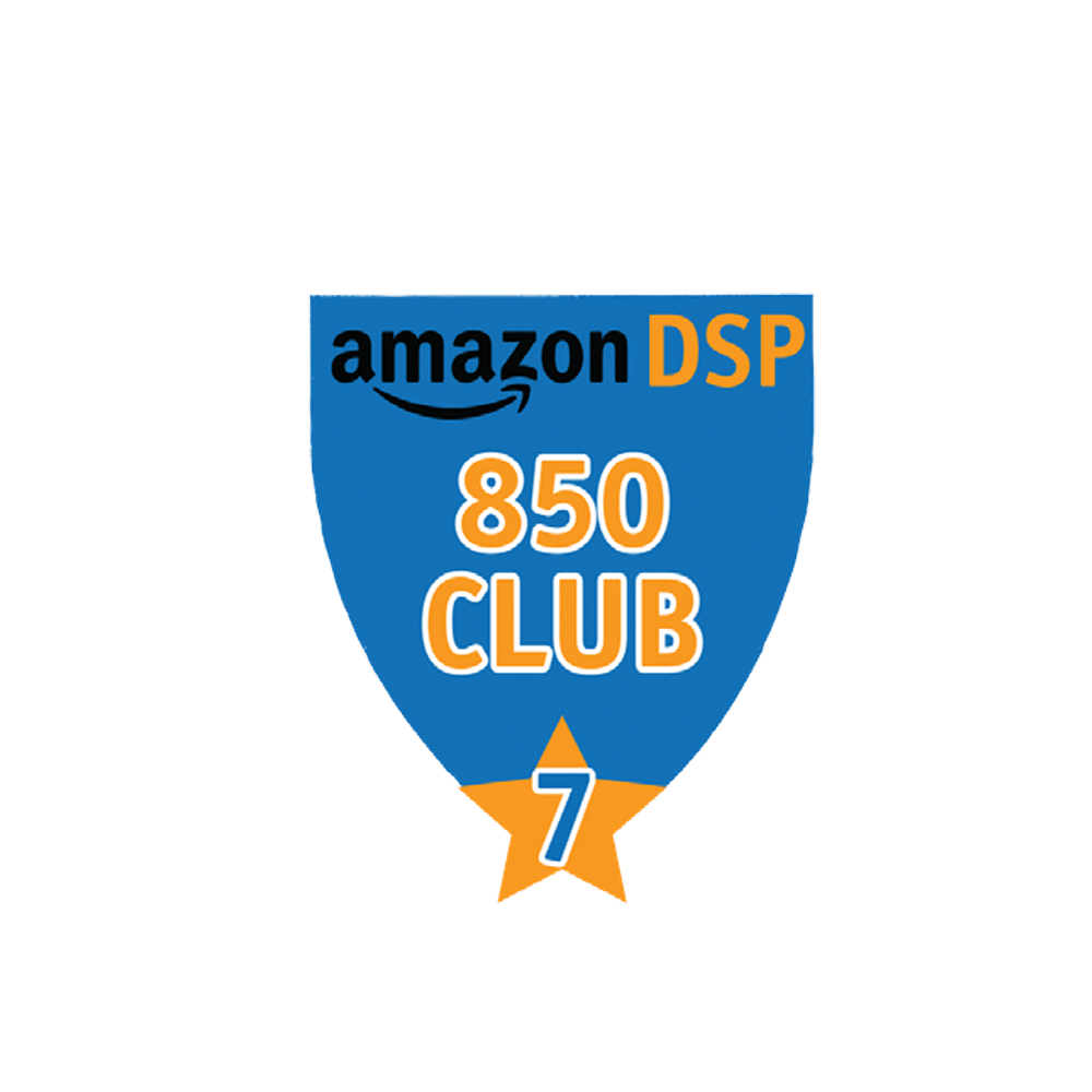 Amazon DSP Blue - 850 Club - 7 month FICO Pin