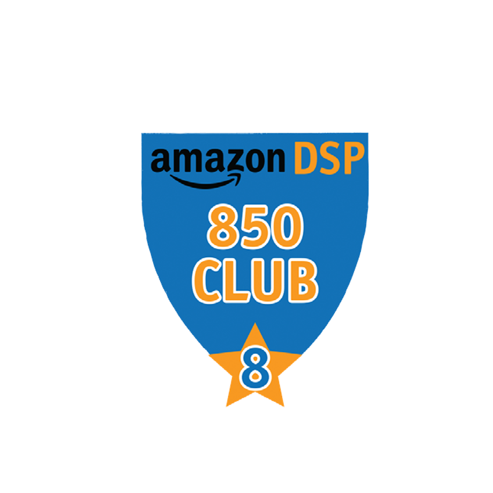 Amazon DSP Blue - 850 Club - 8 month FICO Pin