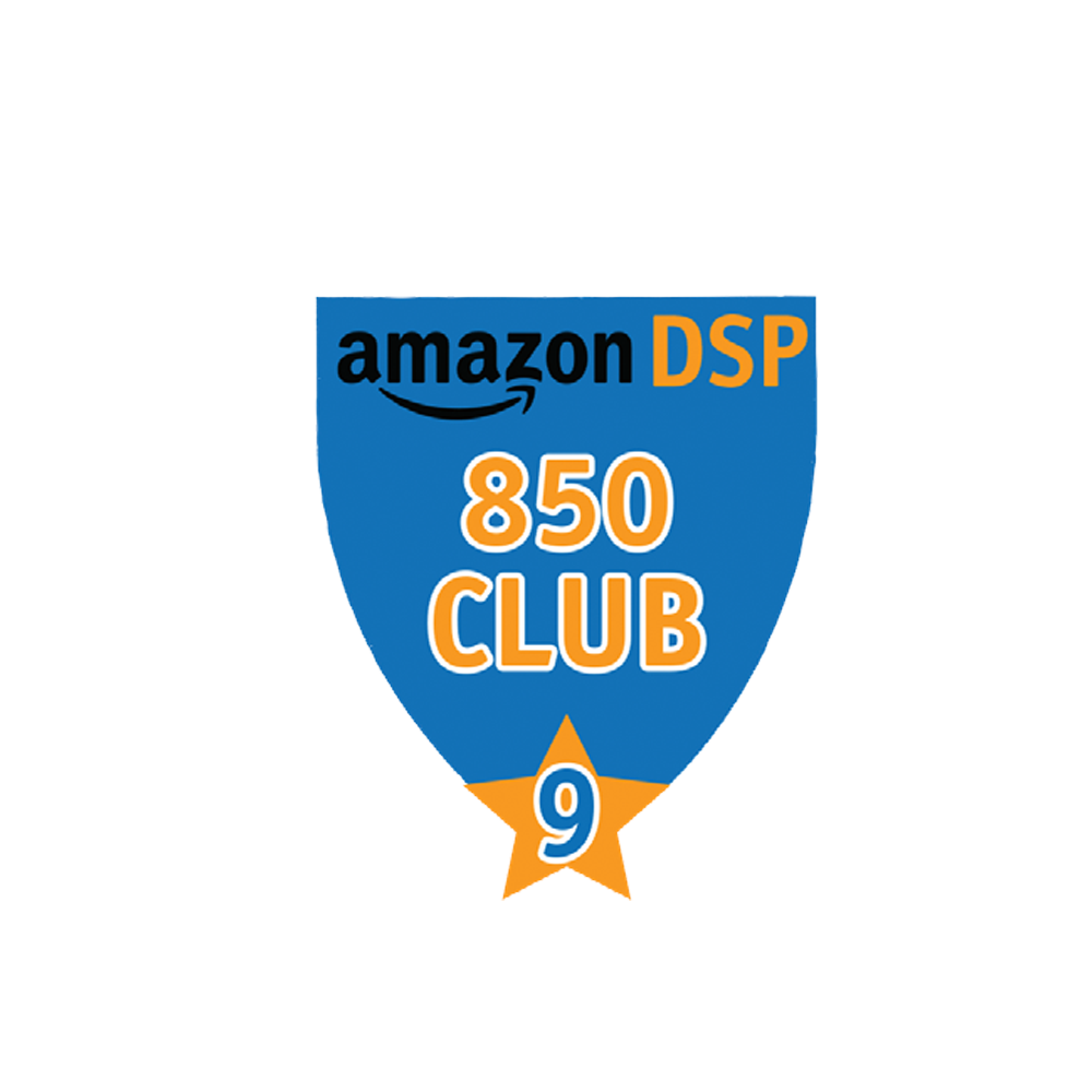 Amazon DSP Blue - 850 Club - 9 month FICO Pin