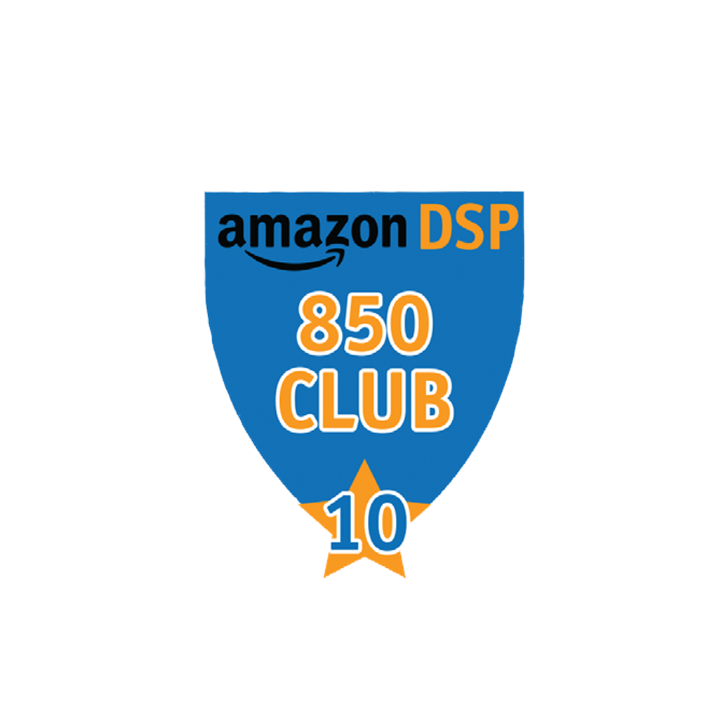Amazon DSP Blue - 850 Club - 10 month FICO Pin