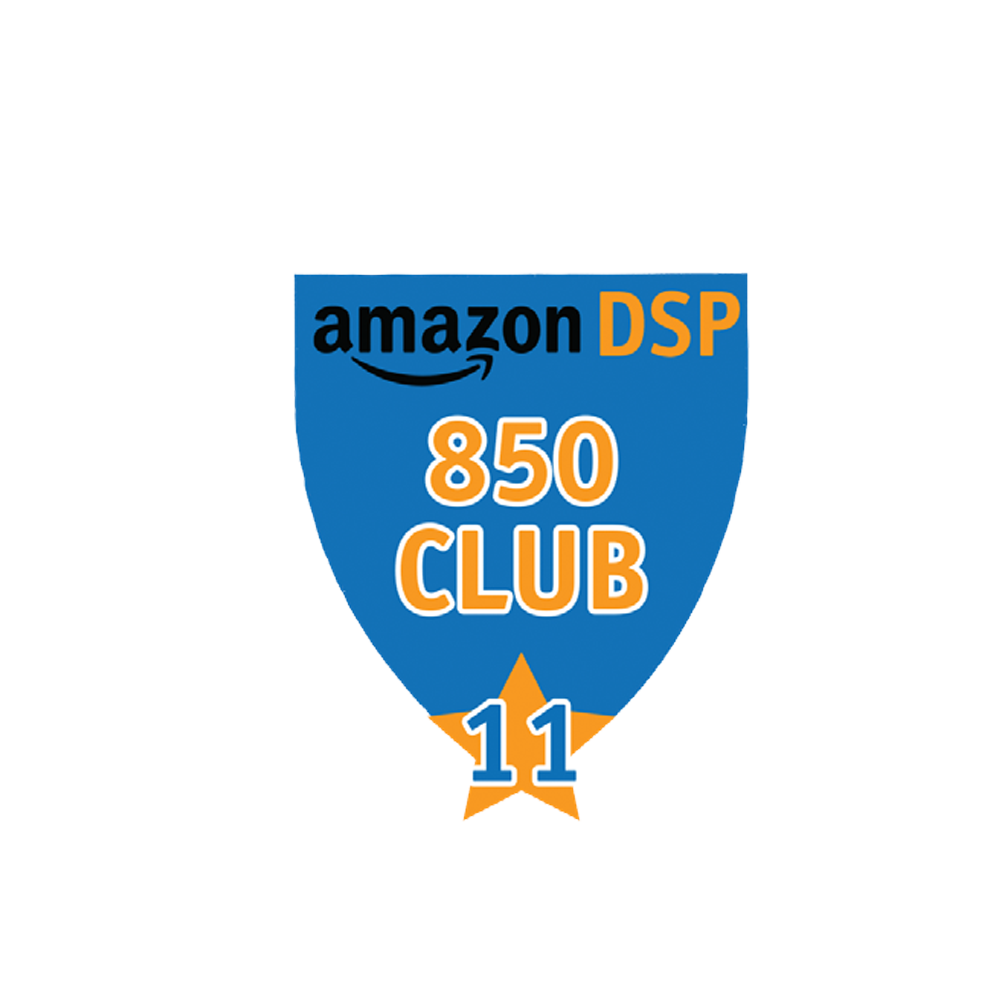 Amazon DSP Blue - 850 Club - 11 month FICO Pin