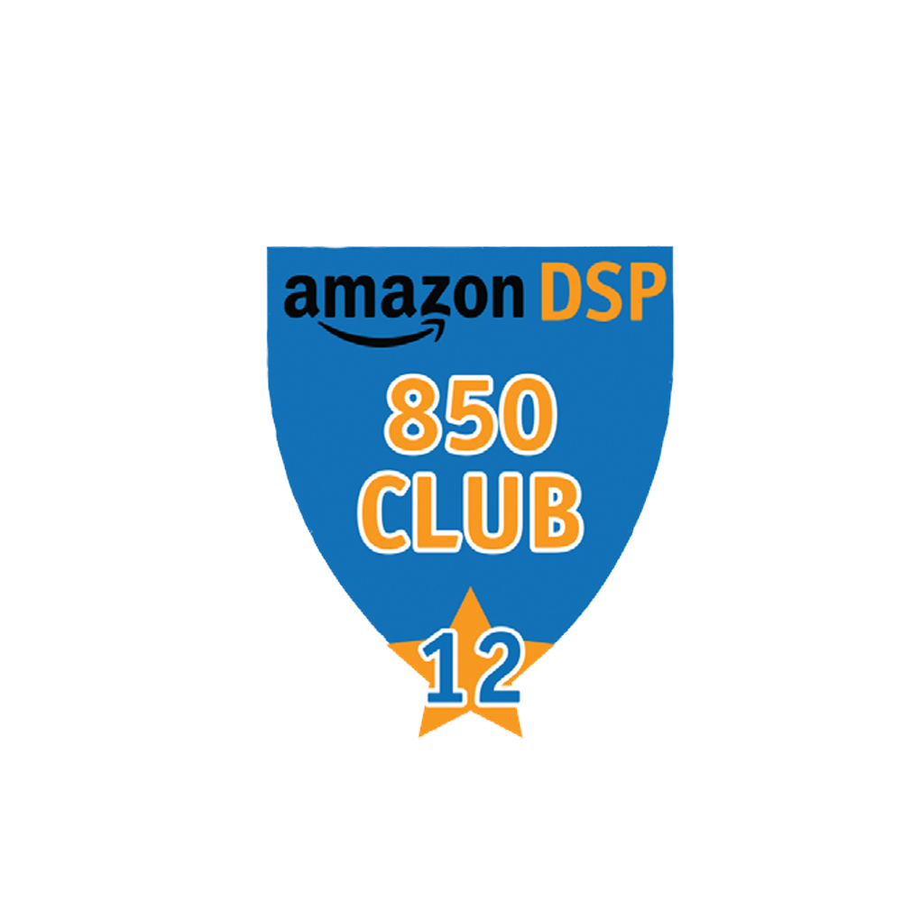 Amazon DSP Blue - 850 Club - 12 month FICO Pin