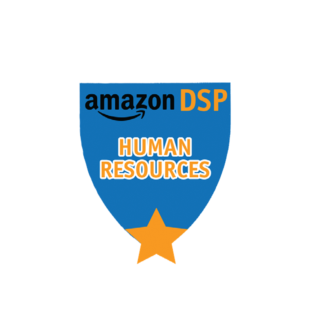 Amazon DSP Blue Titles - Human Resources Pin