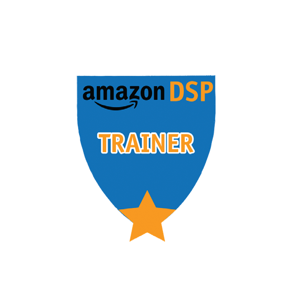 Amazon DSP Blue Titles - Trainer Pin