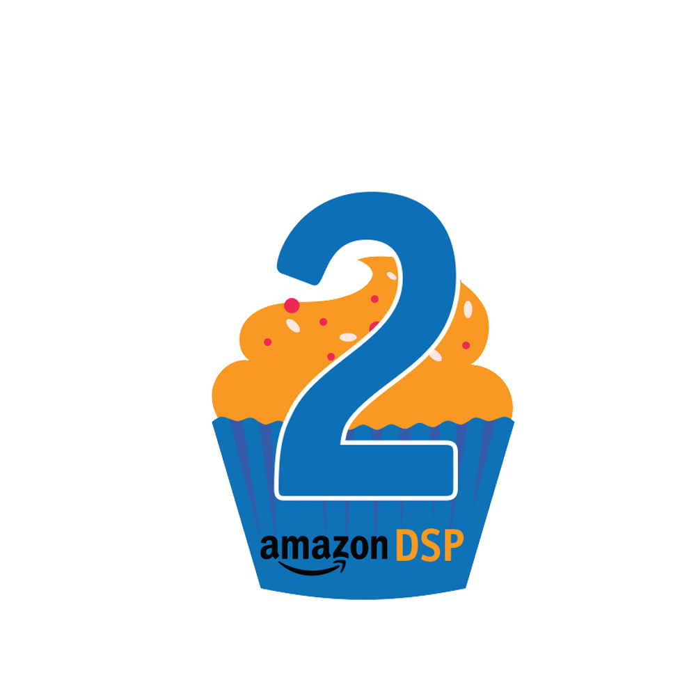 Amazon DSP Cupcake 2 Year Pin