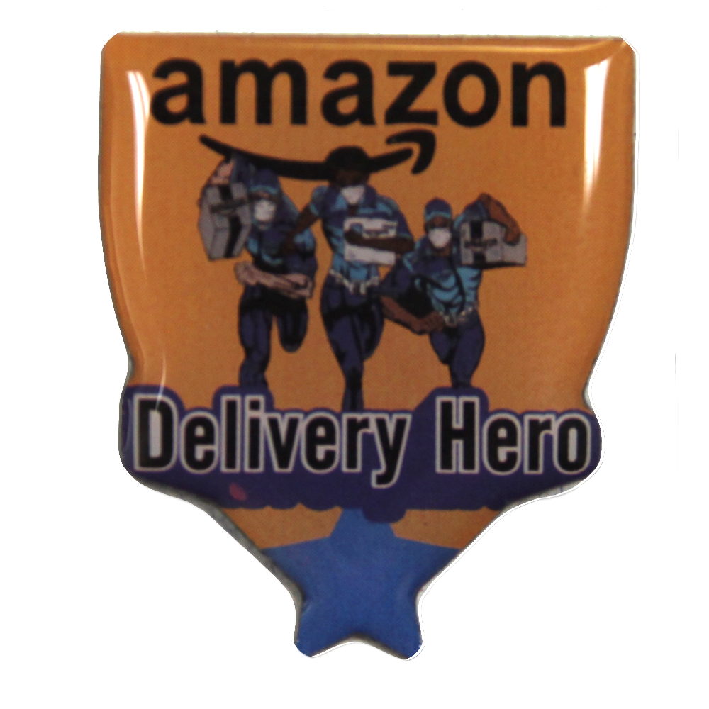 Amazon DSP Delivery Hero Pin