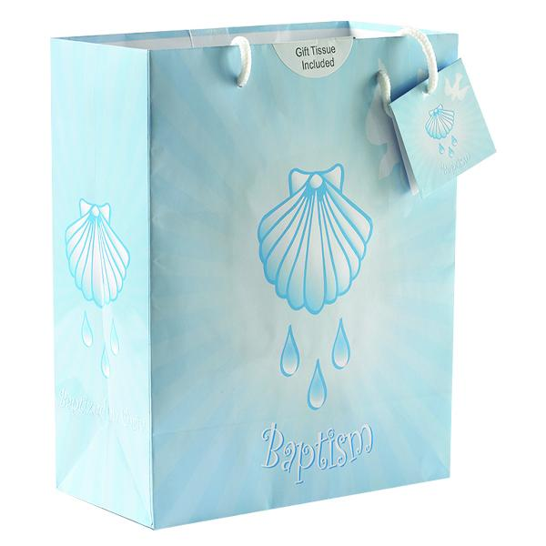 Boy's Baptism Large Gift Bag