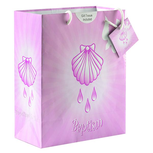 Girl's Baptism Large Gift Bag
