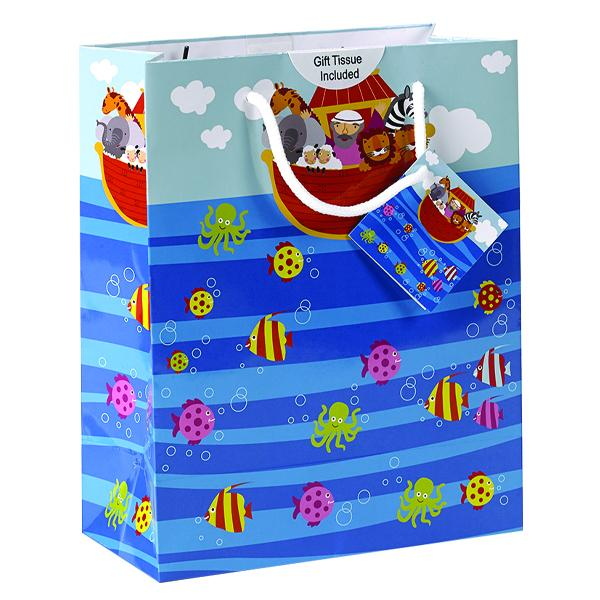 Noah's Ark Large Gift Bag