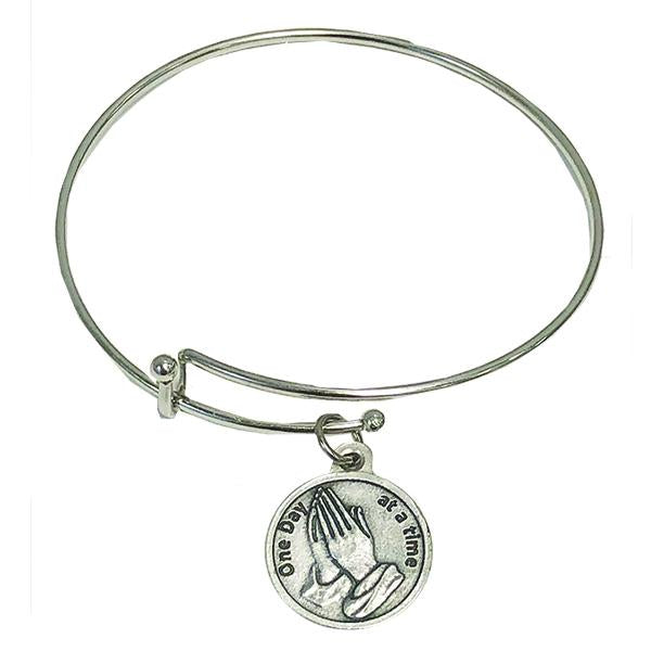 One Day at a Time Bangle Bracelet