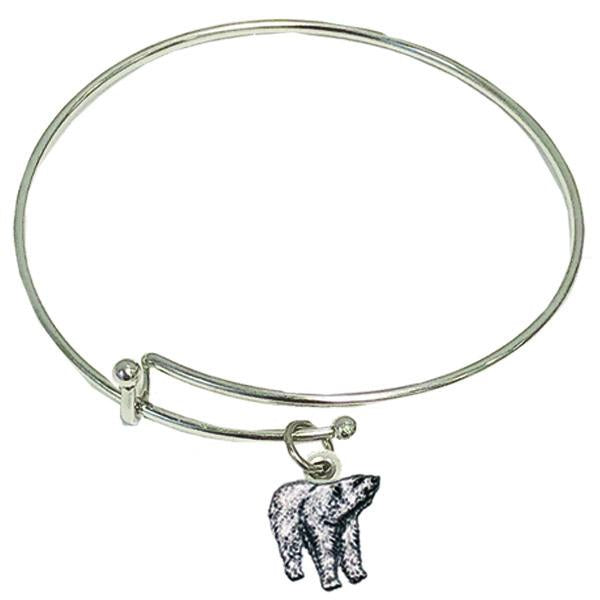 Polar Bear Bangle Bracelet