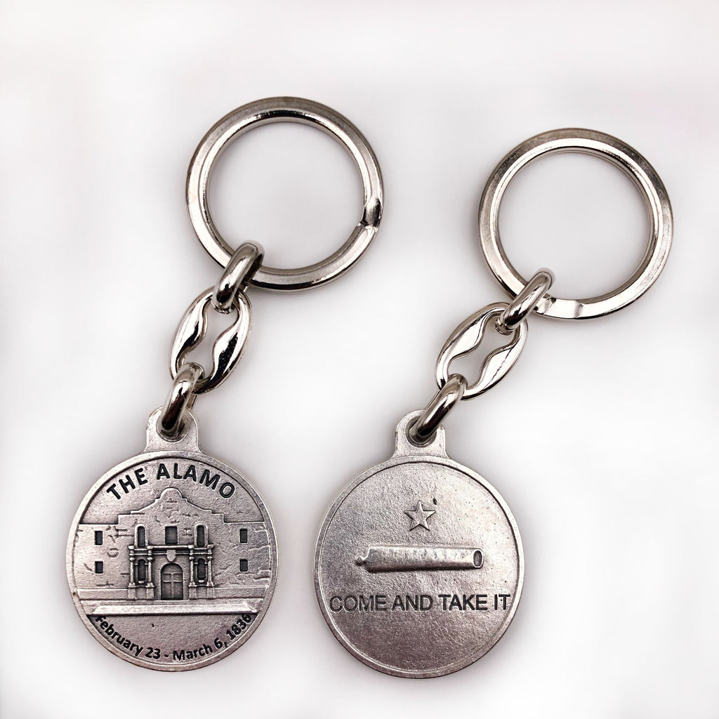 The Alamo Come and Get It Keychain