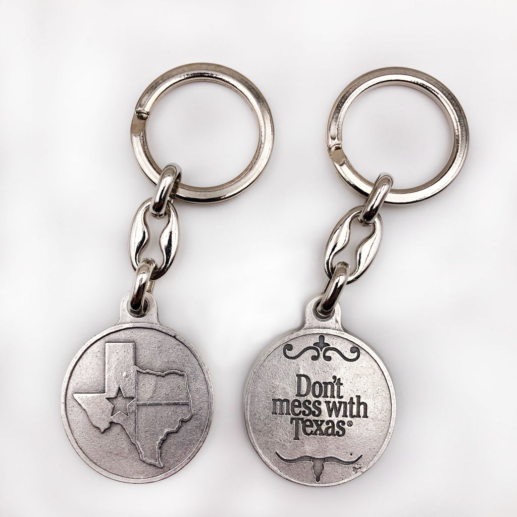 Don't Mess with Texas Keychain