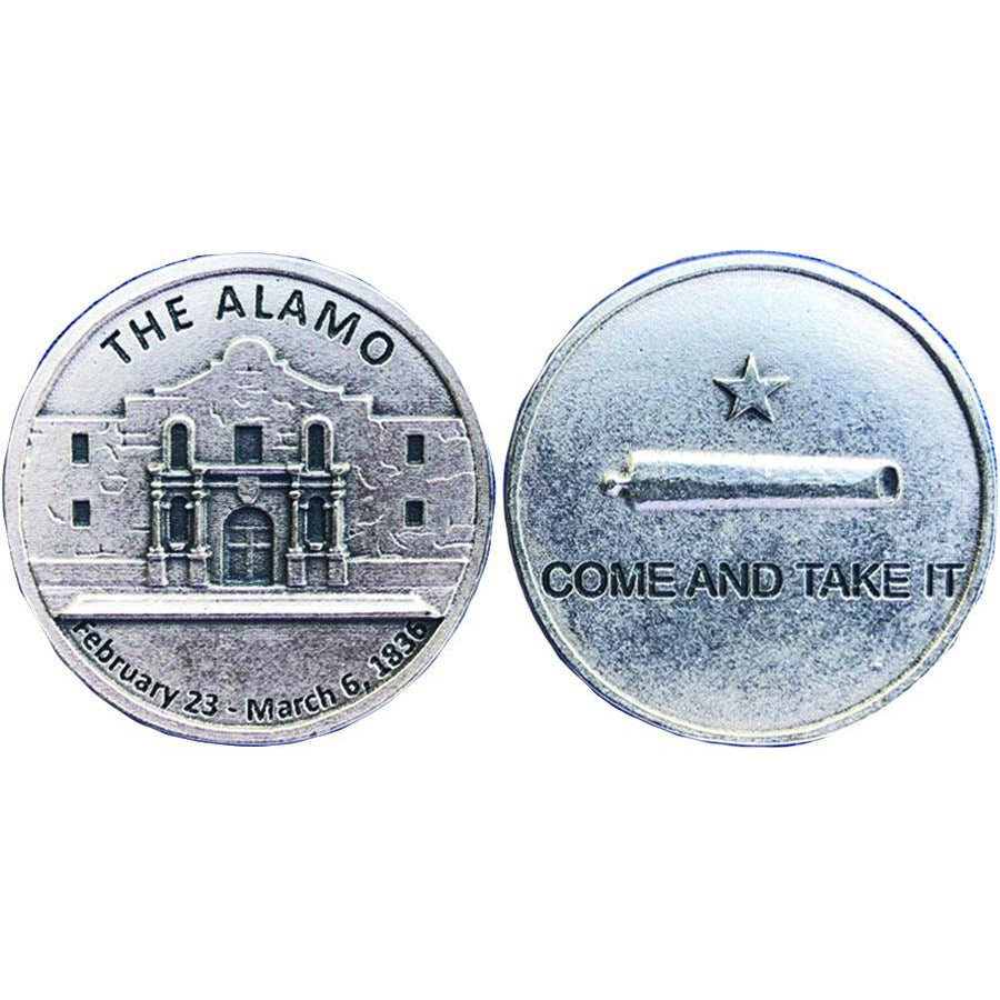 The Alamo Come and Get It Token
