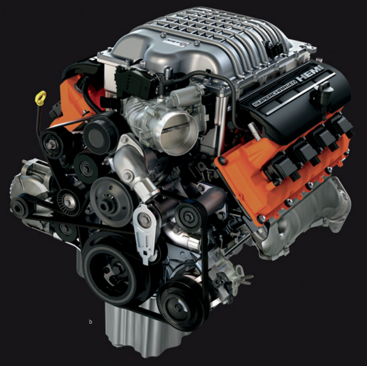 6.2L Supercharged Crate Engine - 68303089AA 68303089AB