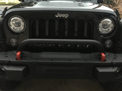 2007 ~ 2018 - Jeep Wrangler JK - Grille and Winch Guard - 77072349