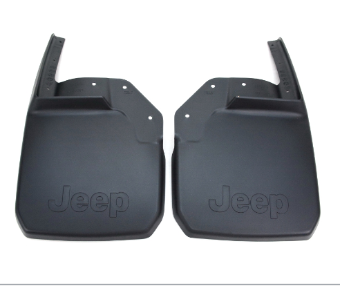 2007 ~ 2018 - Jeep Wrangler JK - Rear Molded Splash Guards - 82210233