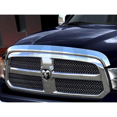 2009 ~ 2012 - Ram 1500 DS - Chrome Front Air Deflector - 82213793