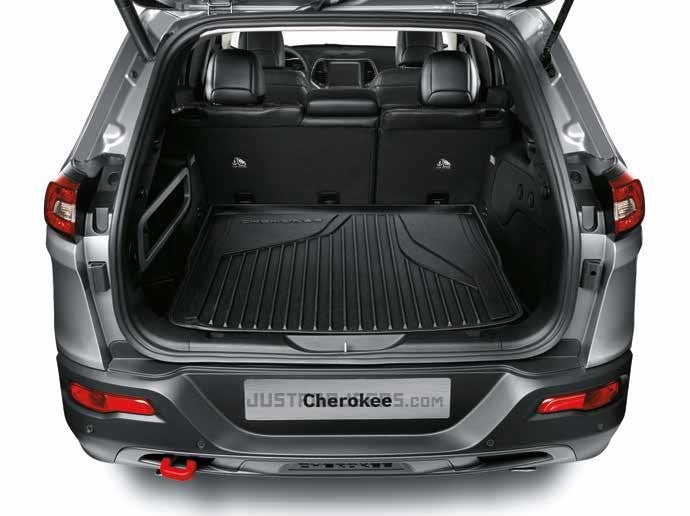 2014 ~ Current - Jeep Cherokee KL - Cargo Tray Kit - 82214032
