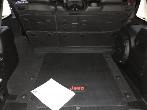 2018 ~ 2020 JL Jeep Wrangler Cargo Area Mat Rubber 82215185AD