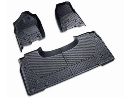 2019 - 2020 DT Ram 1500 - Crew Cab - All Weather Floor Mats (Black) - 82215321AC