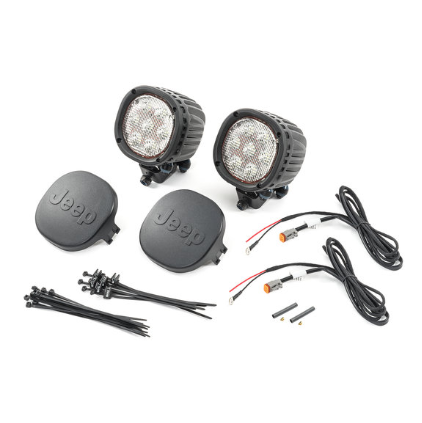 "Jeep Wrangler JL - 7"" LED Off-Road Light Kit - 82215386AB"