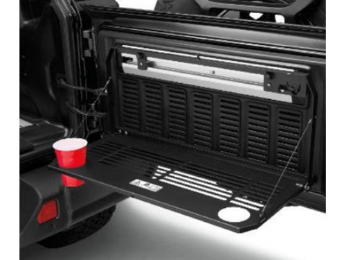2018 JL Jeep Wrangler Tailgate Table Multipurpose 82215416AB