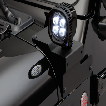 Jeep Wrangler JL - Lower A-Pillar Light Mount Kit - 82215427AB